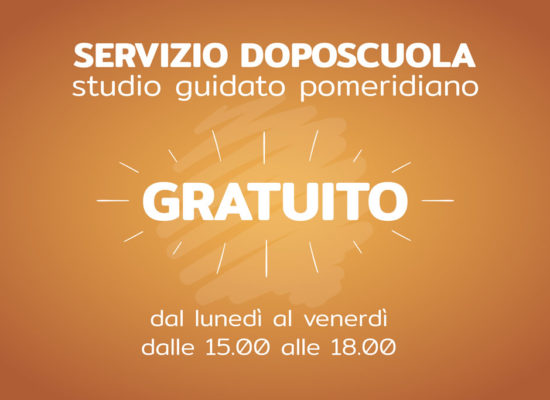 Doposcuola pomeridiano Gratuito – Scuola Media Castiglione