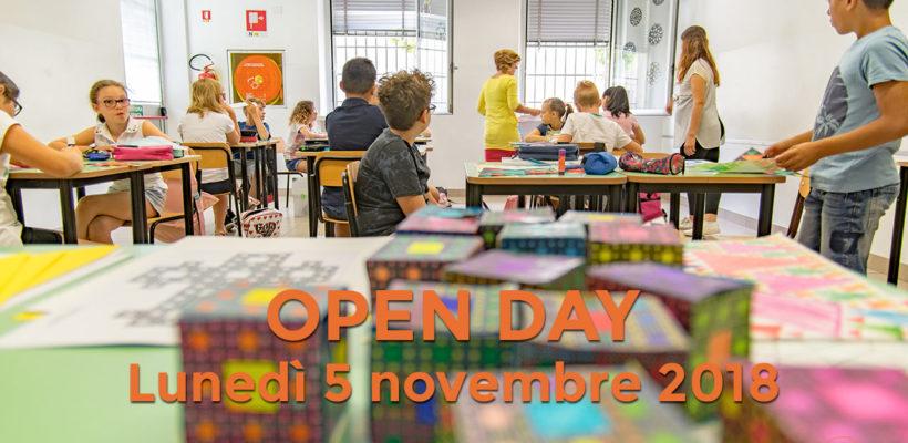 Open day lunedì 5 novembre 2018