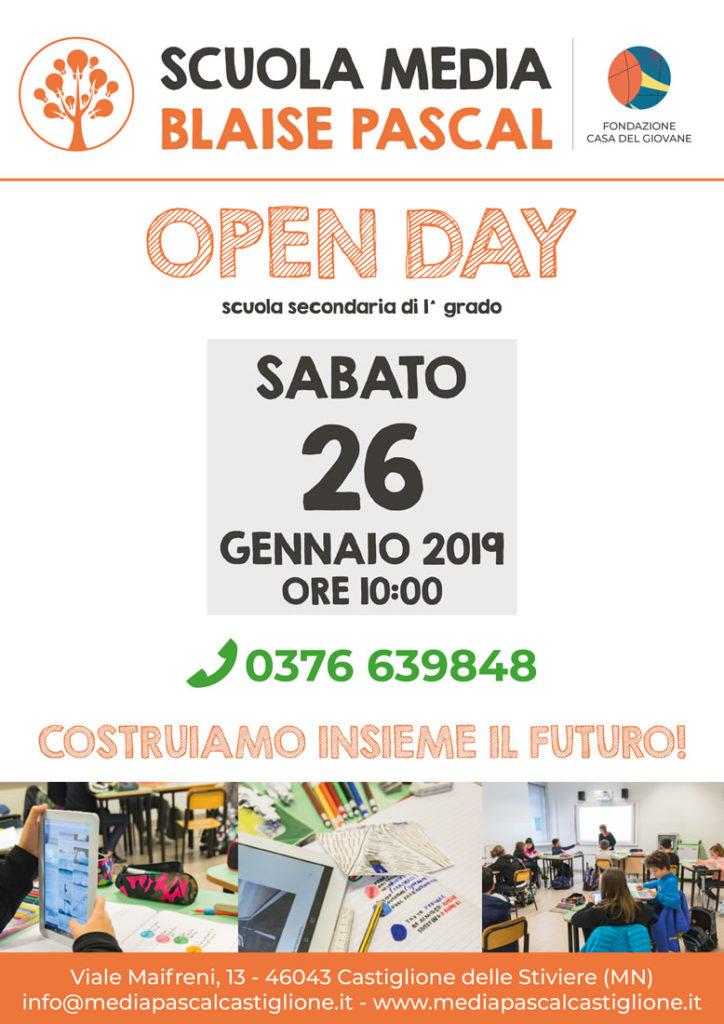 open day scuola media 2019
