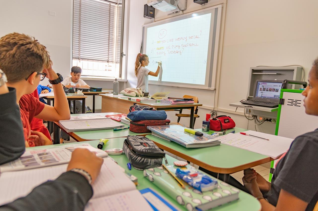 lezioni scuola media