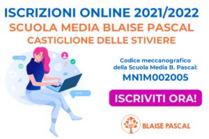 Iscrizioni 2021-2022 Scuola Media Blaise Pascal